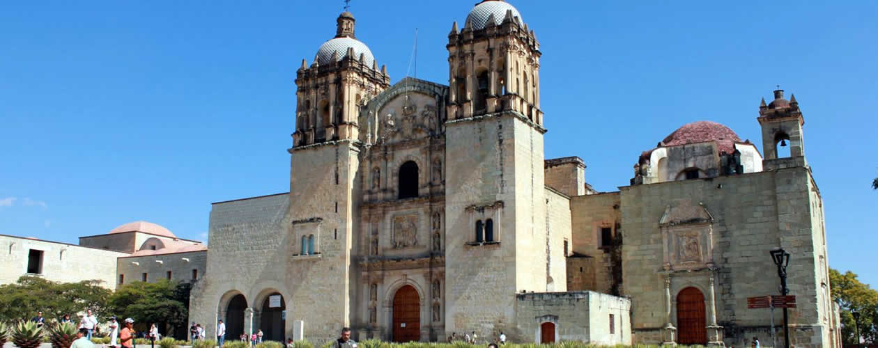 Churches convents and cathedrals in oaxaca mexico