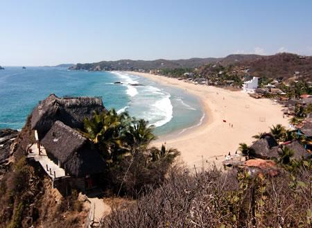 Corredor turístico Puerto Ángel-La Ventanilla, una opción