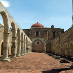 Ex-convent of Cuilapam de Guerrero Oaxaca Mexico 1