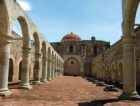 The Ex Convent Of Cuilapam De Guerrero In Oaxaca