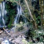 Las Regaderas waterfall Oaxaca Mexico 2