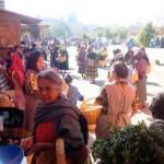 Teotitlan market Oaxaca Mexico 2