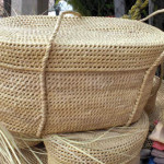 Basket making in Oaxaca 1