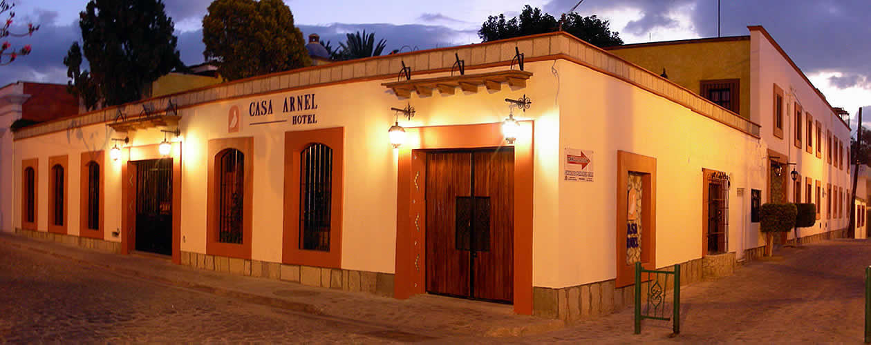 Hotel Casa Arnel Jalatlaco Oaxaca Mexico