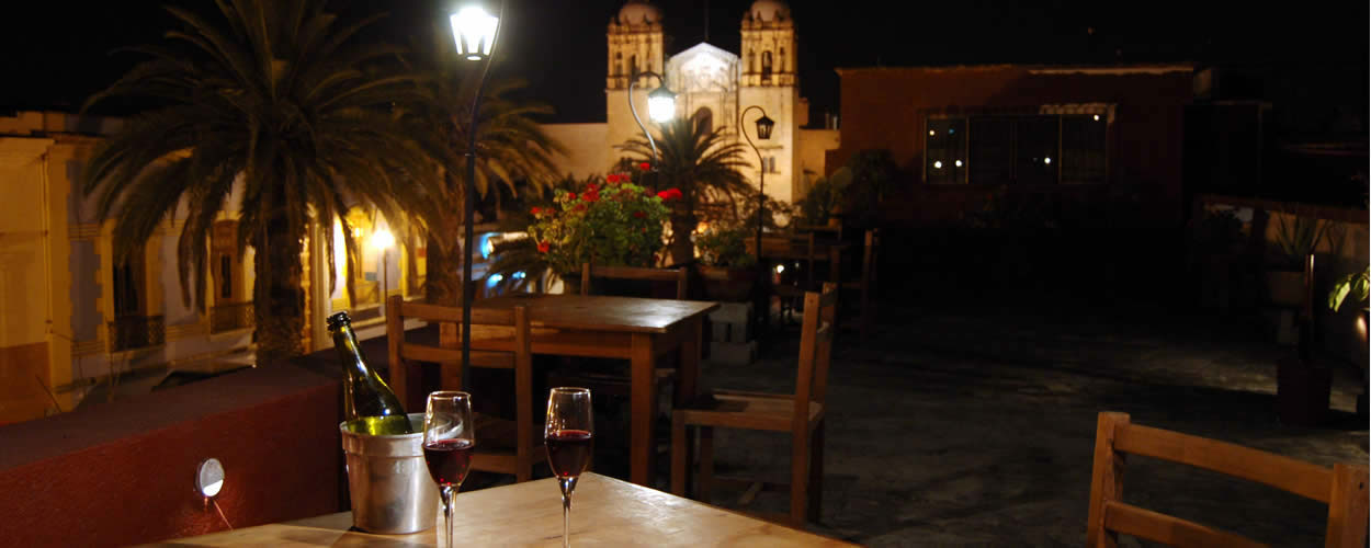 Mezzaluna Italian Restaurant Oaxaca