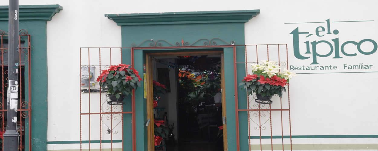 Restaurant El Tipico Oaxaca Mexico