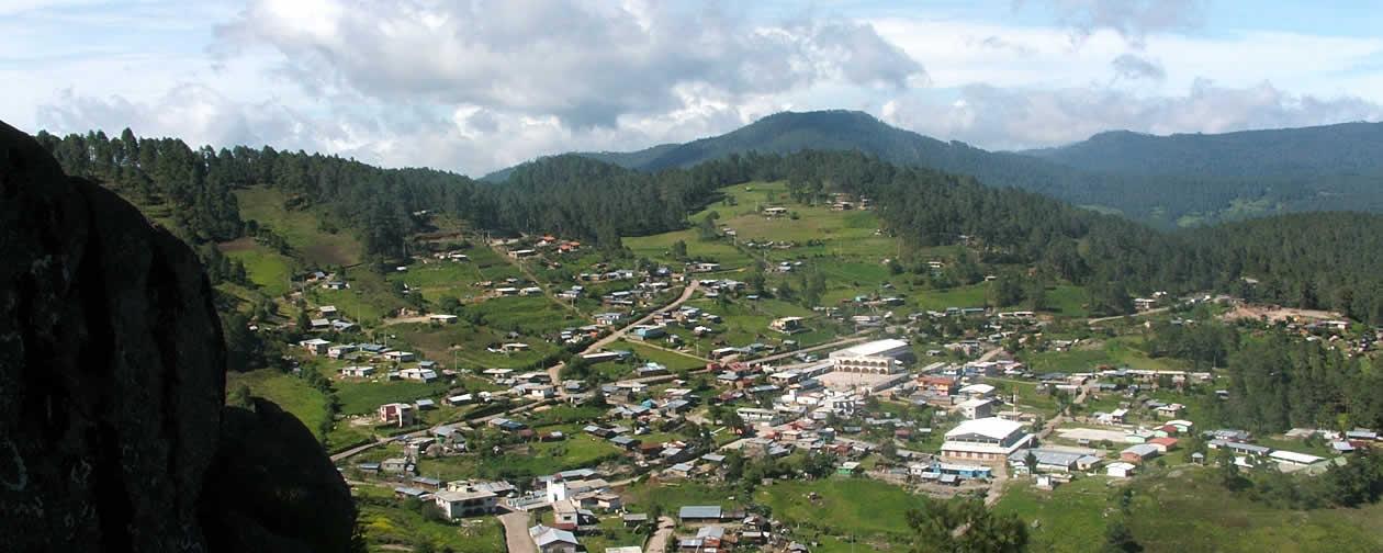 Cuajimoloyas Sierra Norte Oaxaca Mexico