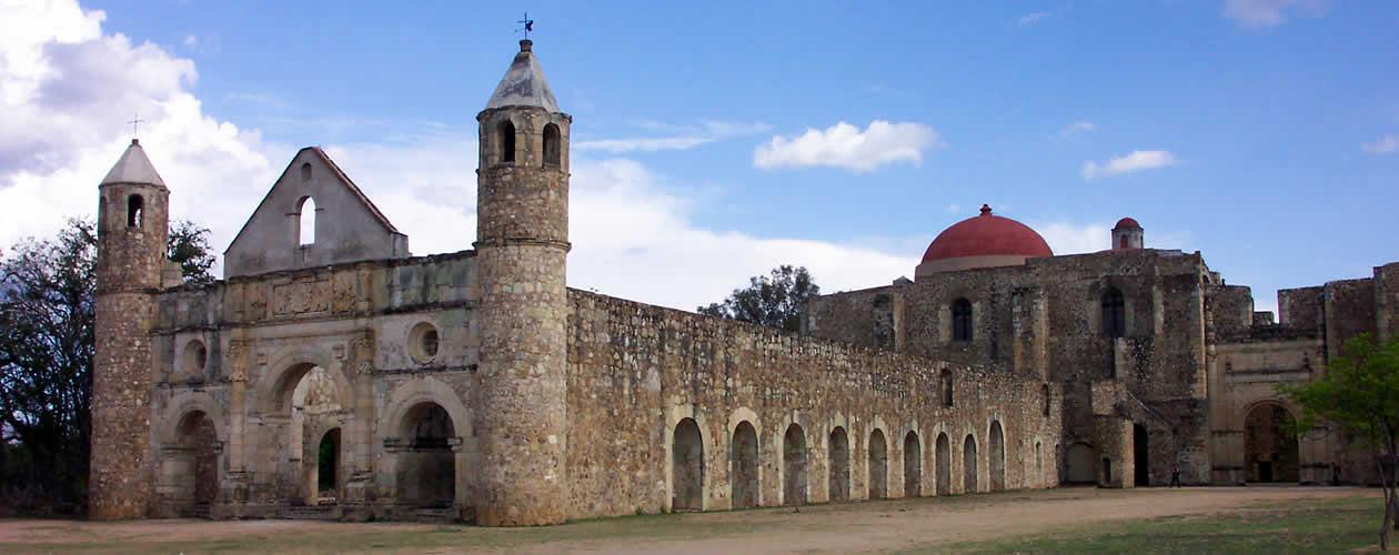 Ex-convent of Cuilapam de Guerrero - Oaxaca Mexico