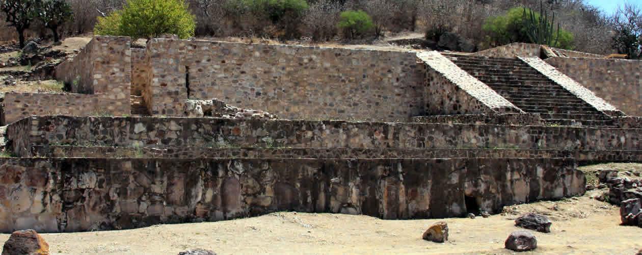 Dainzú Archaeological Site Oaxaca Mexico