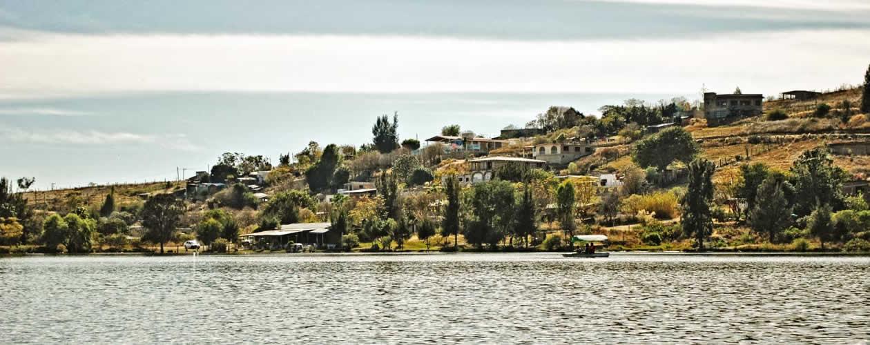 El Estuduante y La Azucena Reservoir Oaxaca Mexico