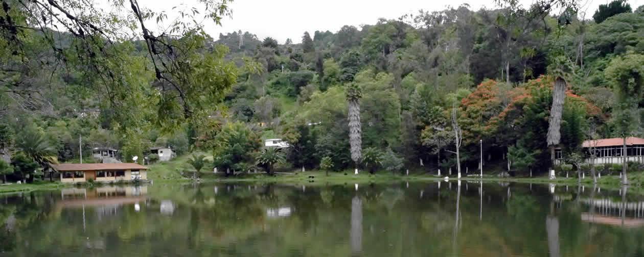 Guelatao Lagoon Sierra Norte Oaxaca Mexico