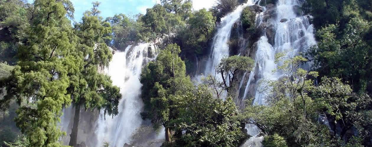 La Esmeralda Waterfall Oaxaca Mexico