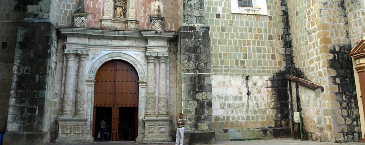 Nuestra Señora de la Merced Church Oaxaca Mexico