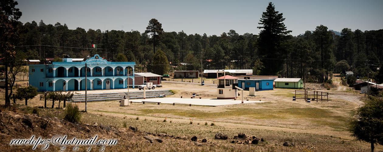 Llano grande Sierra Norte Oaxaca Mexico