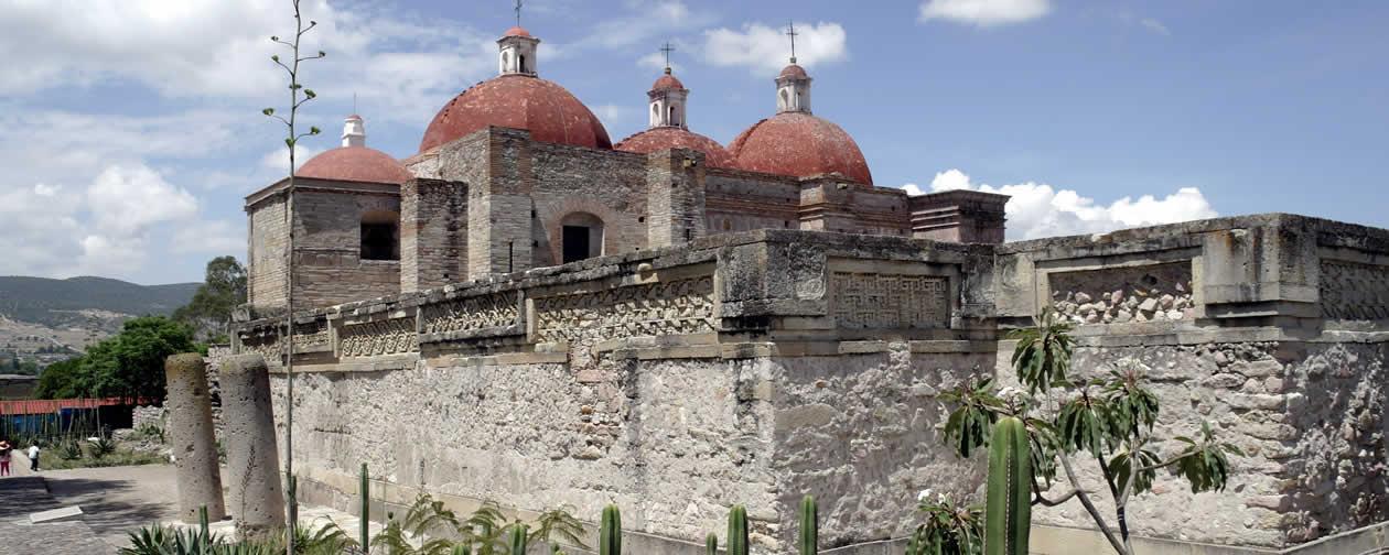 Mitla Archaeological Site Oaxaca Mexico