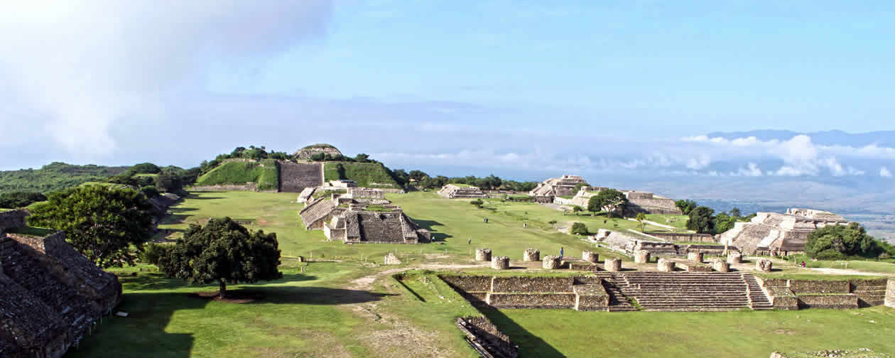 the archaeological sites in oaxaca mexico are national treasures