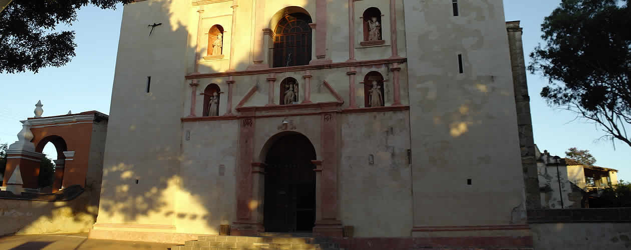 San Jerónimo Tlacochahuaya Church - Oaxaca Mexico