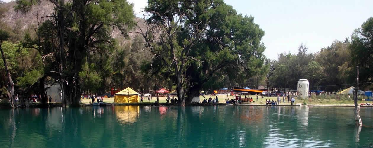 Tecomaxtlahuaca Lagoon Oaxaca Mexico