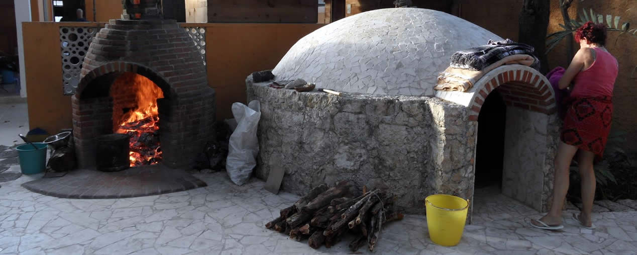 Temazcal - traditional medicine in Oaxaca Mexico