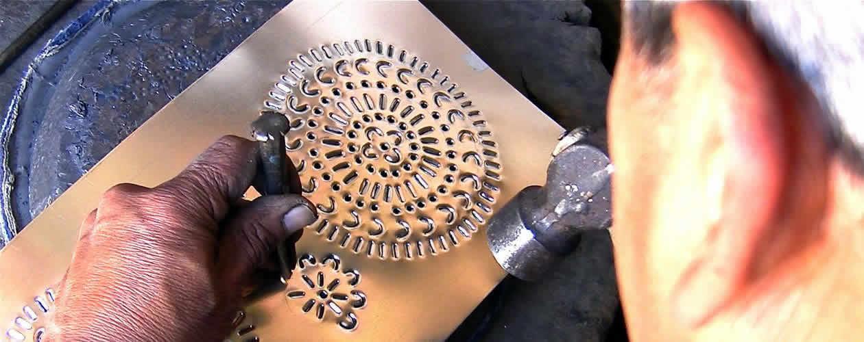 Tinwork Oaxaca Mexico