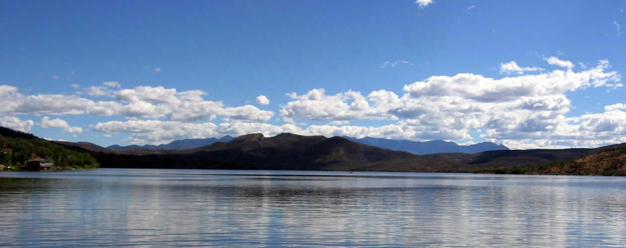 Reservoirs in Oaxaca Mexico