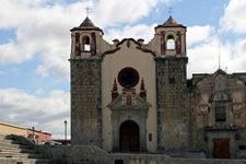 Escuela de Bella artes oaxaca San José church