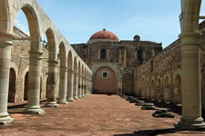 Ex-convent at Cuilapam Oaxaca Mexico