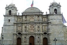 Oaxaca Cathedral Oaxaca Mexico