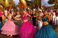 Puerto escondido Carnaval Oaxaca Mexico