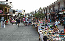 Puerto escondido in Oaxaca Mexico