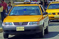 Taxis Oaxaca Mexico