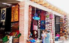 Teotitlan Market Oaxaca Mexico