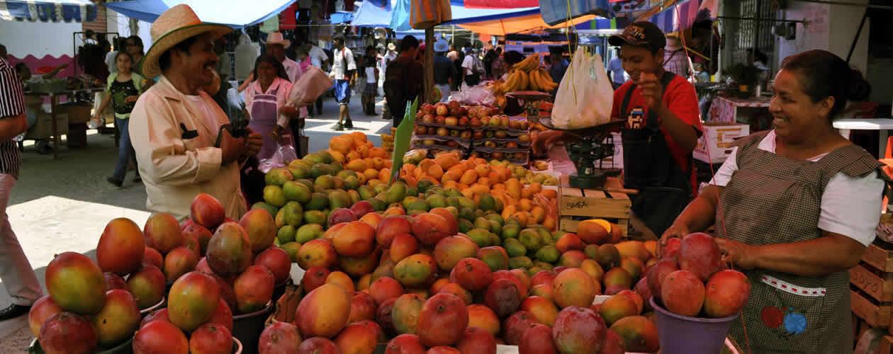 Tlacolula market Oaxaca Mexico