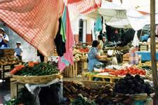 Zaachila market Oaxaca Mexico