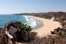 Zipolite beach - Puerto Angel, Oaxaca