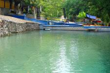 Laollaga natural pool is near Ixtepec in Oaxaca