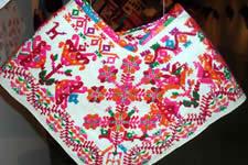 Embroidery Oaxaca Mexico